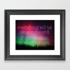 Inspirational Framed Art Print