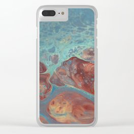 Under the sea No3 Clear iPhone Case