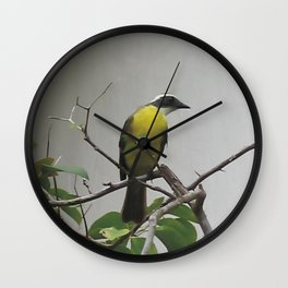 Chichen Itza Bird Wall Clock
