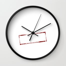 Finally Found My Calling Retired Funny T-shirt Wall Clock