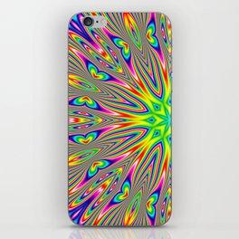 Psychedelic Rainbow Kaleidoscope iPhone Skin