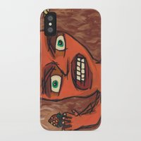 lawyer iPhone & iPod Cases featuring Sour Strawberries by Mister Groom