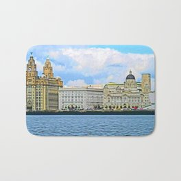 Liverpool Water Front Bath Mat