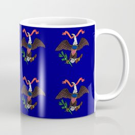 Bald eagle - america,usa,patriotic,patriot,eagle, united states,bald eagle,national bird,us,seal Coffee Mug