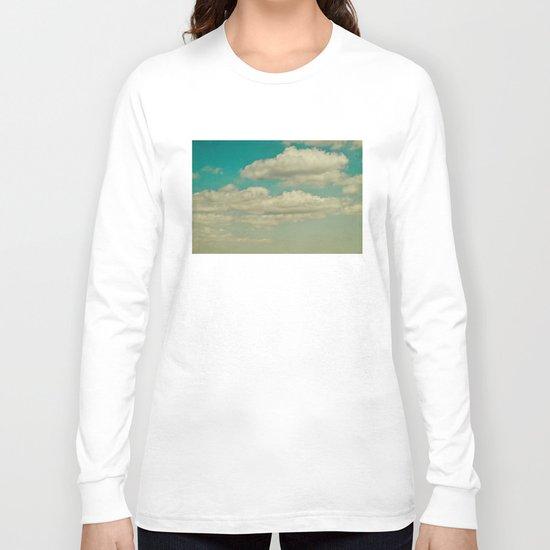 light blue sky Long Sleeve T-shirt