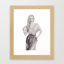 Candice Accola Framed Art Print