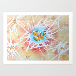 The Astronaute Art Print