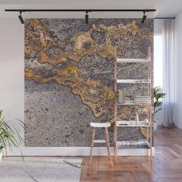 Gold Inlay Marble II Wall Mural