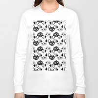 loll3 Long Sleeve T-shirts featuring Kittens  by lOll3