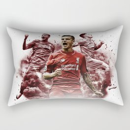 Liverpool FC: Philippe Coutinho cloud design Rectangular Pillow