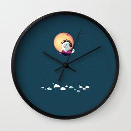 Madame Coquette Wall Clock