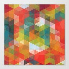 Transparent Cubism Canvas Print