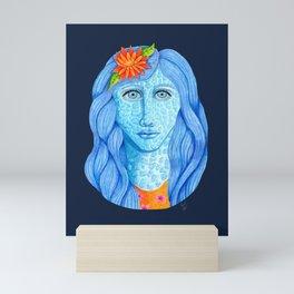 Skylar Larimar Mini Art Print