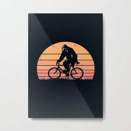 Bicycle Bicyclebigfoot Metal Print