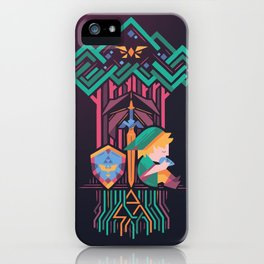 Guardian's link iPhone Case