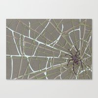 spider Canvas Prints featuring Spider  by Aiko Tagawa