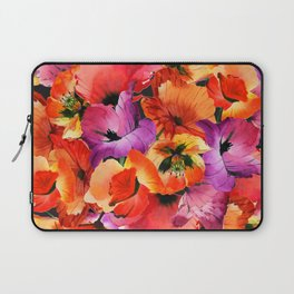 Poppies for Fun Laptop Sleeve