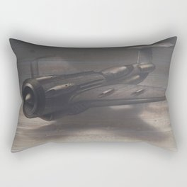 Old airplane 3 Rectangular Pillow