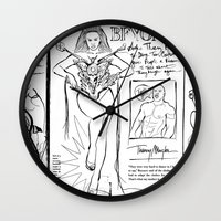 scandal Wall Clocks featuring Beyonce Scandal by CLSNYC