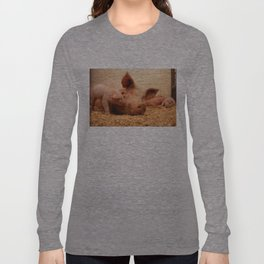 Sow and Piglets Long Sleeve T-shirt