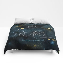 To the stars who listen... Comforters
