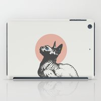 sphynx iPad Cases featuring Sphynx by Zeke Tucker