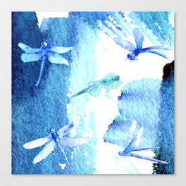 Dragon fly Canvas Print