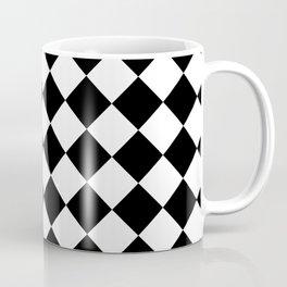 Contemporary Black & White Gingham Pattern - Mix and Match Coffee Mug