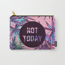 Not today - pink version Carry-All Pouch