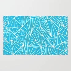 Ab Fan Electric Blue Rug