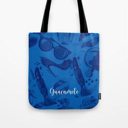 FASHION STYLE  BLUE Tote Bag