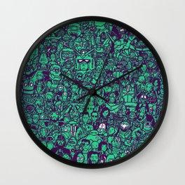 Domo Arigato Wall Clock