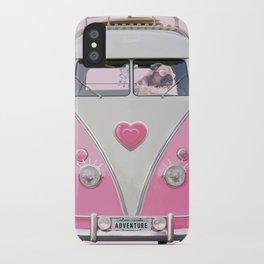 Pug Girly Adventure iPhone Case