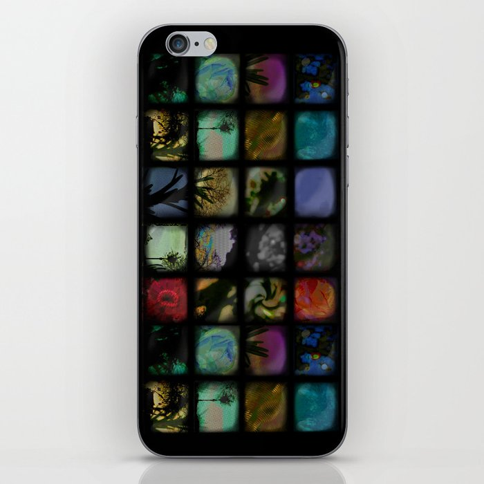Boxed In iPhone Skin
