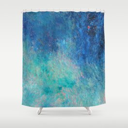 Water II Shower Curtain