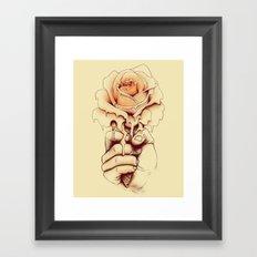 Rose a la Mode Framed Art Print