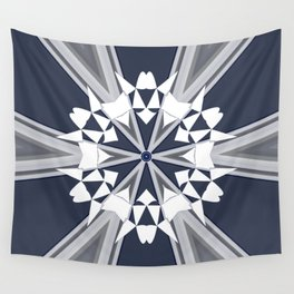 Nautical Mandala Design Wall Tapestry