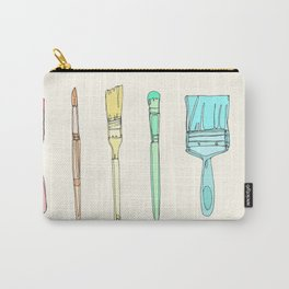 Paintbrushes Carry-All Pouch