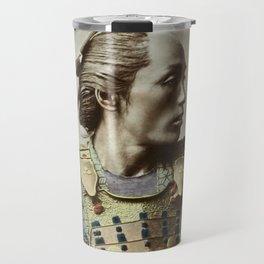 Kusakabe Kimbei - Samurai - Vintage Photo Travel Mug