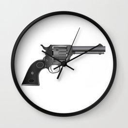 Six Gun Wall Clock
