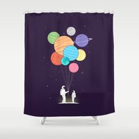 ilovedoodle Shower Curtains featuring Papa by I Love Doodle