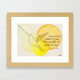 Soar no2 Framed Art Print