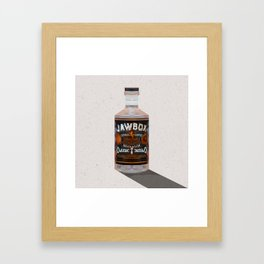 Gin // 01 Framed Art Print