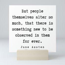 77    | Jane Austen Quotes | 190722 Mini Art Print