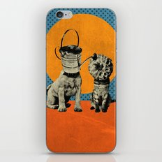 Cats&Dogs iPhone & iPod Skin