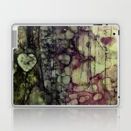 TEARS ARE WORDS THE HEART CAN'T SAY Laptop & iPad Skin