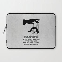 George Orwell - 1984 - Rebellion Laptop Sleeve