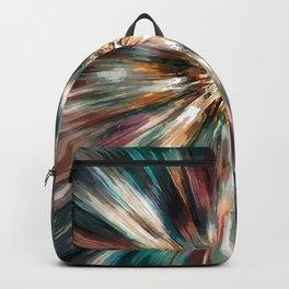 Earth Tones Tie Dye Backpack