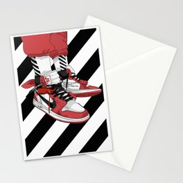 Jordan I Off White Art Stationery Cards