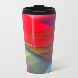 a towel full of colors -16- Travel Mug
